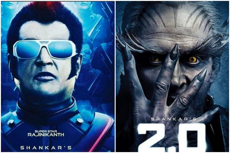 Rajinikanth, Akshay Kumar, 2.0, Robot 2, posters
