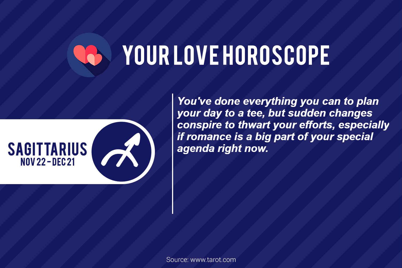 sagittarius love horoscope february 15