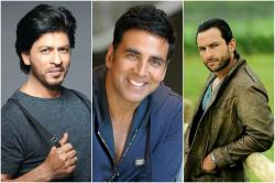 Akshay Kumar, Shah Rukh Khan and Saif Ali Khan's throwback pic has a strong message!