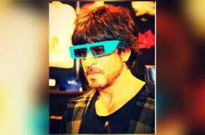 Shah Rukh Khan is fond of playing with his kids' toys. (Courtesy: Facebook/Shah Rukh Khan)