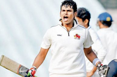 Shreyas Iyer struck 5 sixes and 7 fours in his 92 ball 85 innings