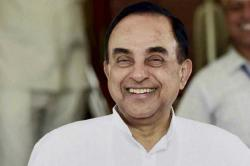 Chidambaram's son has 21 undeclared foreign bank accounts, PM Modi should step in: Subramanian Swamy