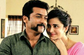 Suriya and Shruti Haasan in Singam 3