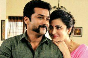 Suriya and Shruti Haasan in Singam 3
