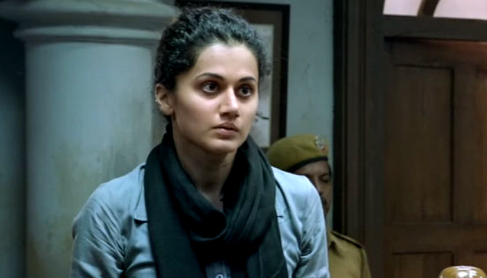 Taapsee Pannu in a still from Pink
