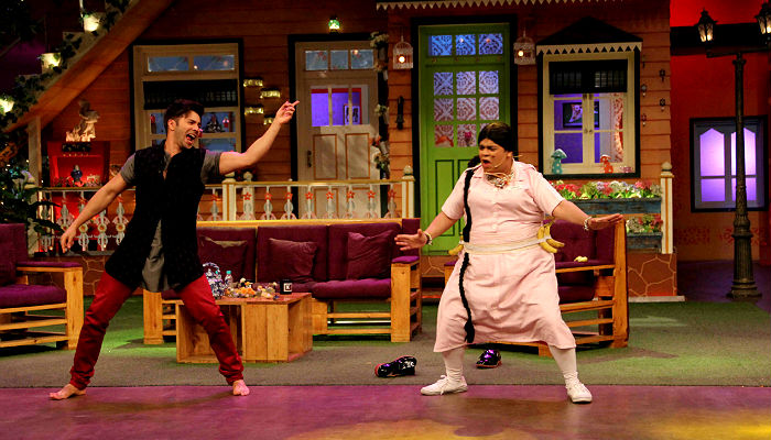 Varun Dhawan on The Kapil Sharma Show