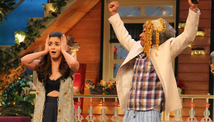 Alia Bhatt on The Kapil Sharma Show