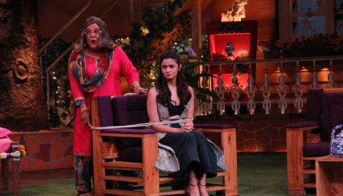 Alia Bhatt on The Kapil Sharma Show