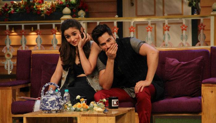 Alia Bhatt and Varun Dhawan on The Kapil Sharma Show