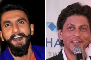 Ranveer Singh and Shah Rukh Khan.