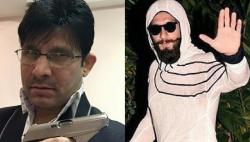 Did Kamaal R Khan just call Ranveer Singh a terrorist?