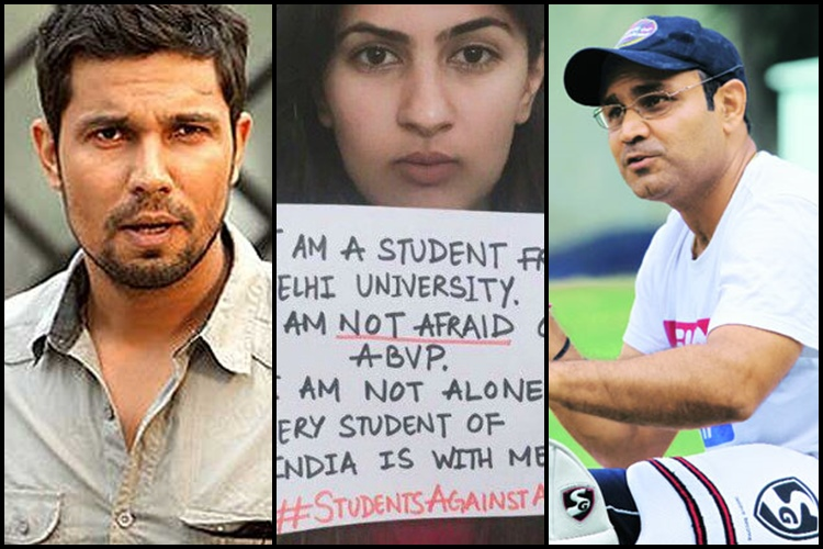 Shekhar Gupta, Barkha Dutt lash out at Randeep Hooda, Virender Sehwag for 'mocking' Kargil martyrdaughter