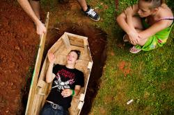 Teen woke up while he was being taken to his OWN funeral and shockedeveryone!