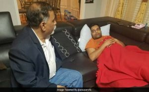 Alok Madasani, a friend of Srinivisan , was shot at too. He is recuperating from gunshot wounds.