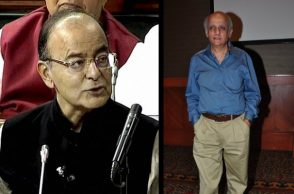 Arun Jaitley and Mukesh Bhatt