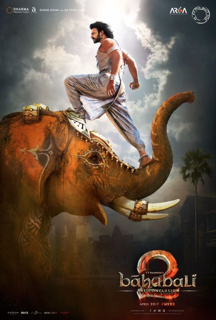 Baahubali 2 poster (Courtesy: Twitter/SS Rajamouli)