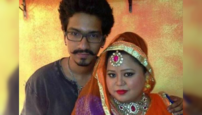 Bharti Singh and Haarsh (Twitter/@FilmibeatHi )