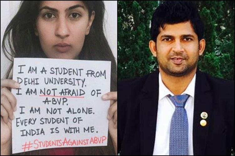Ramjas Violence BJP MP Compares Kargil Martyrs Daughter Gurmehar Kaur With Dawood Ibrahim