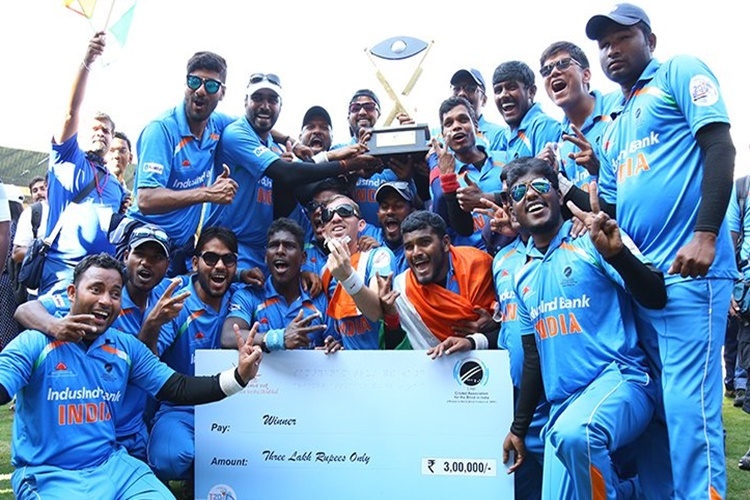 Defending champions India thrash Pakistan to lift T20 World Cup for blind