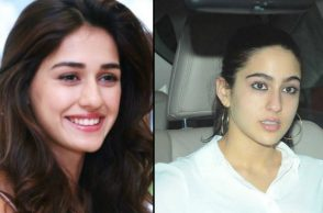 Disha Patani and Sara Ali Khan (Courtesy: Twitter)