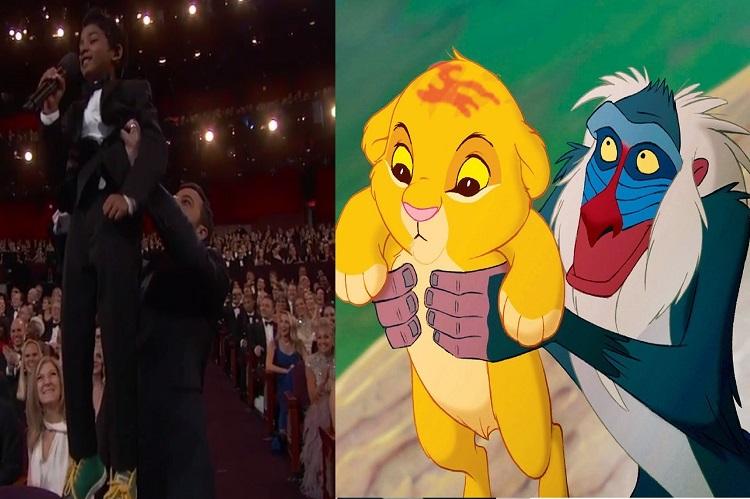 Sunny Pawar roars like 'The Lion King' at Oscars