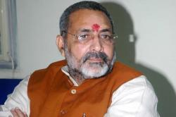 BJP's Giriraj Singh says, 'if not Ayodhya, Pakistan could be a possible destination Ram Mandir'