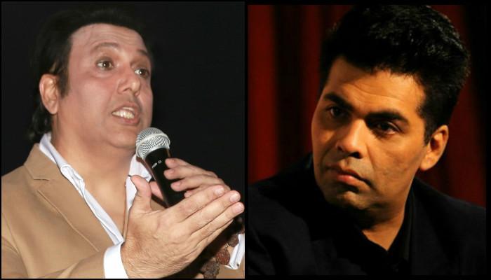 Govinda slams Karan Johar; calls him a risky person