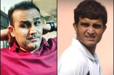 Sehwag and Sourav