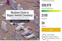 Just when we lost hope in humanity, Muslim-led fundraiser to repair Jewish cemetery has whizzed past its goal
