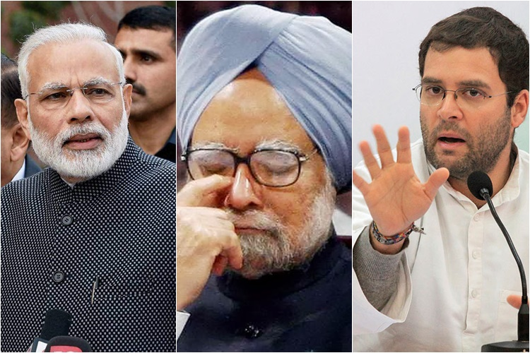 Rahul Gandhi reacts to Narendra Modi's 'raincoat jibe' against Manmohan Singh, says PM hurts the nation