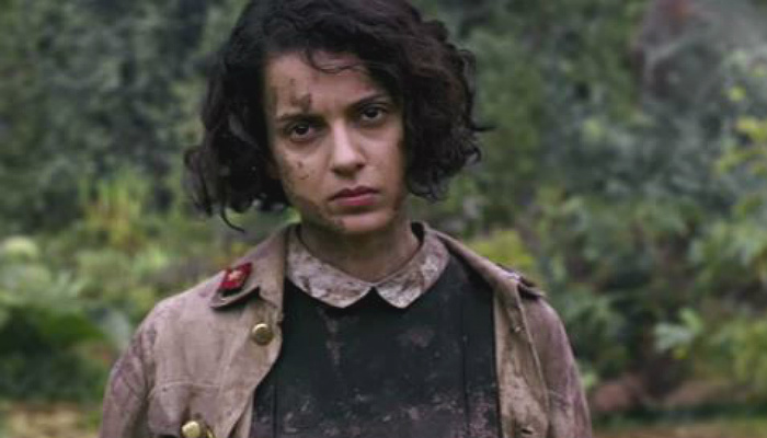 Kangana Ranaut in a still from Rangoon (Courtesy: YouTube/T-Series)