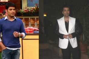 Karan Johar and Kapil Sharma (Courtesy: IANS)