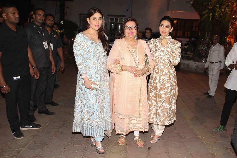 Karisma Kapoor, Kareena Kapoor Khan and Babita Kapoor