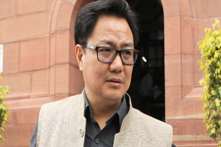 Hindu population is reducing, minorities are flourishing in India: Rijiju
