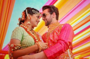 Neil Nitin Mukesh and Rukmini Sahay (Courtesy: Facebook/The Wedding Story)