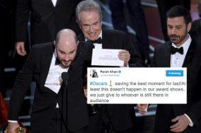 Oscars goof up (Courtesy: Fotoweb)