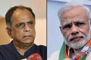 Pahlaj Nihalani and Narenrda Modi