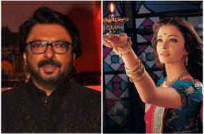 Sanjay Leela Bhansali and Aishwarya Rai Bachchan.