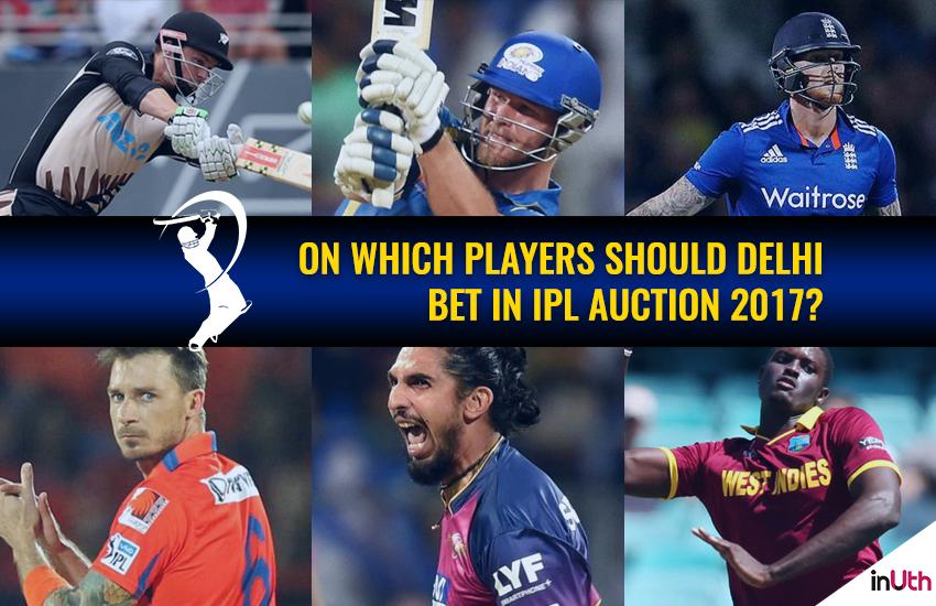 IPL Auction 2017: Delhi Daredevils' probablewishlist!