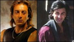 Check out Ranbir Kapoor in his long hair avatar from the sets of Sanjay Dutt biopic