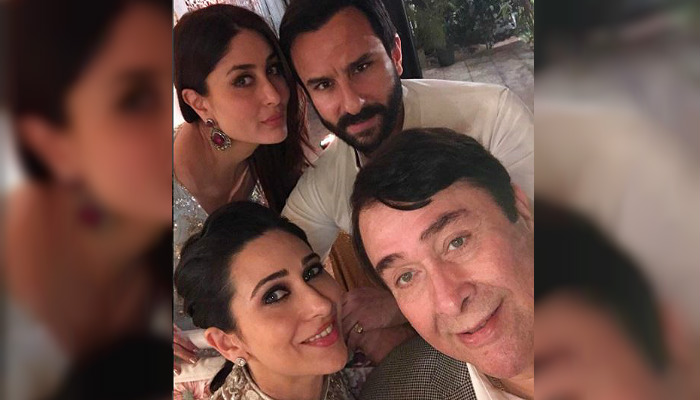 Photos: Taimur Ali Khan steals the show at grandpa Randhir Kapoor's birthday, Amitabh Bachchan and Rekha alsopresent