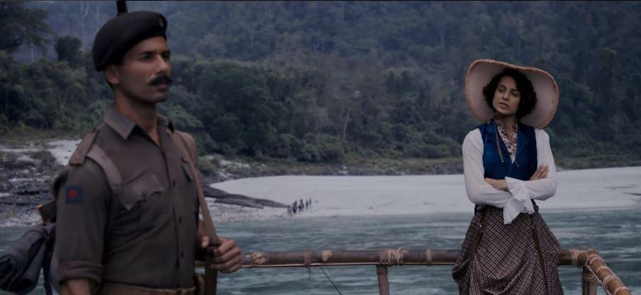 A still from Rangoon (Courtesy: YouTube/Viacom 18 Pictures)
