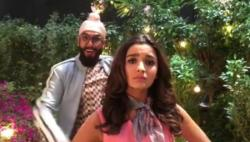 Watch: 'Happy' Ranveer Singh and Alia Bhatt's version of Tamma Tamma will make you go LOL