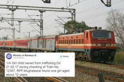 This 12-year old was saved from trafficking by the Railway Protection force and they deserve applause