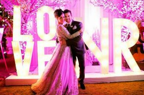 Rukmini Sahay and Neil Nitin Mukesh (Courtesy: The Wedding Story)