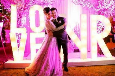 Rukmini Sahay and Neil Nitin Mukesh (Courtesy: The Wedding Story)