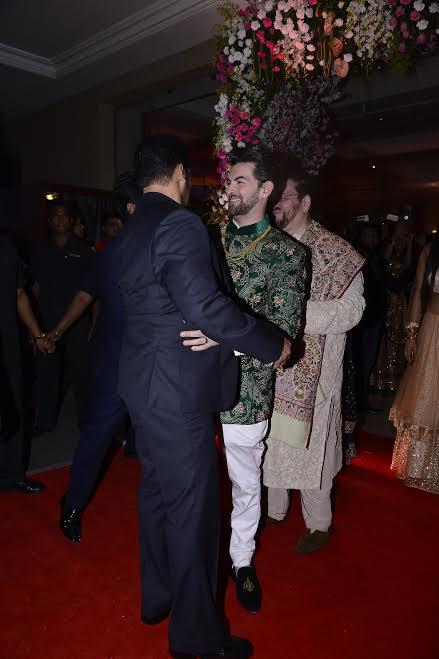 Salman Khan at Neil Nitin Mukesh's reception