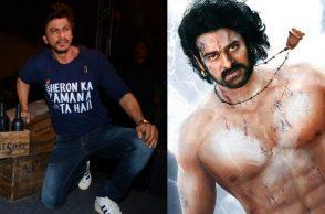 Shah Rukh Khan and Prabhas