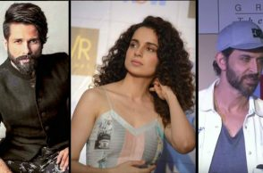 Shahid Kapoor, Kangana Ranaut and Hrithik Roshan