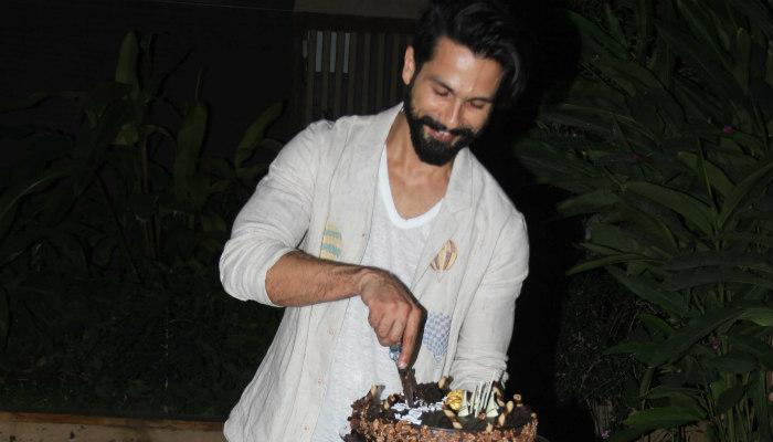shahid kapoor birthday
